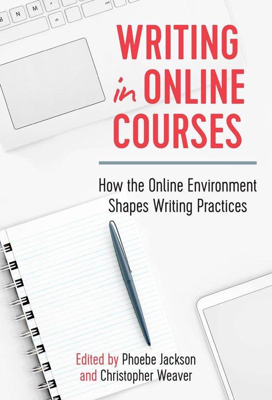 Boek cover Writing in Online Courses van Chris Anson (Onbekend)