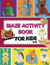 Mazes Activity Book for Kids 4-8