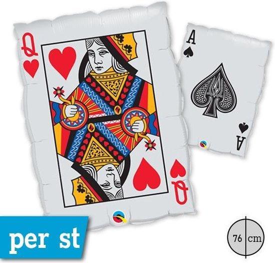Folie kaartspel queen