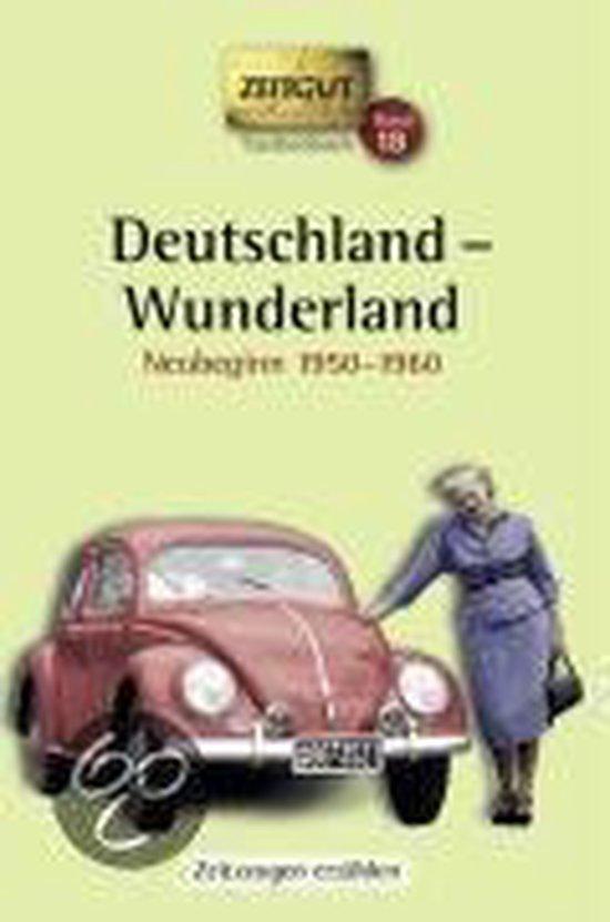 Omslag van Deutschland - Wunderland