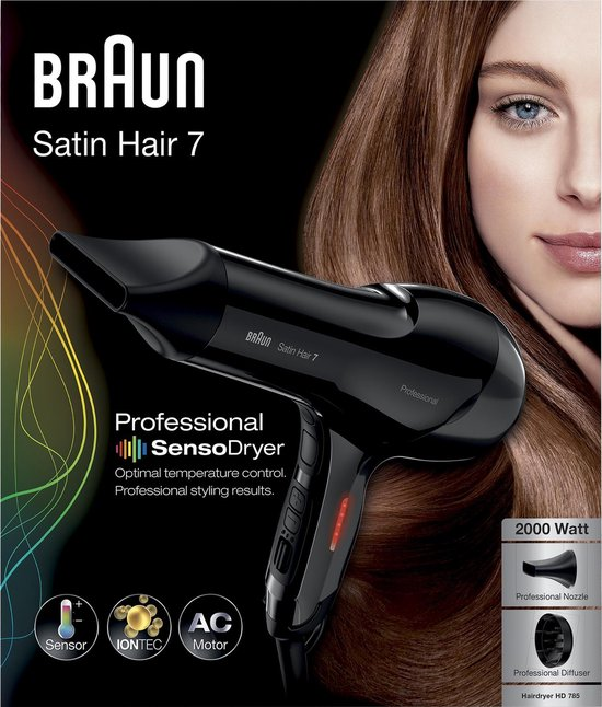 Braun Satin Hair 7 SensoDryer HD 785 Professional - Föhn