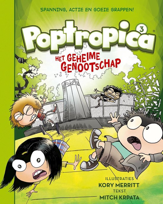 Poptropica 3 -   Het geheime genootschap
