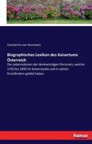 Biographisches Lexikon des Kaisertums OEsterreich