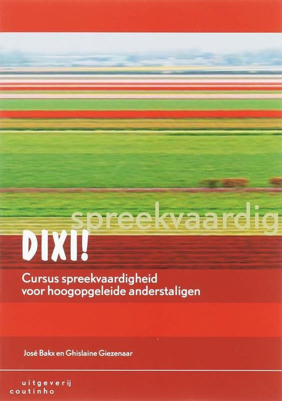 Boek cover Dixi! van J. Bakx
