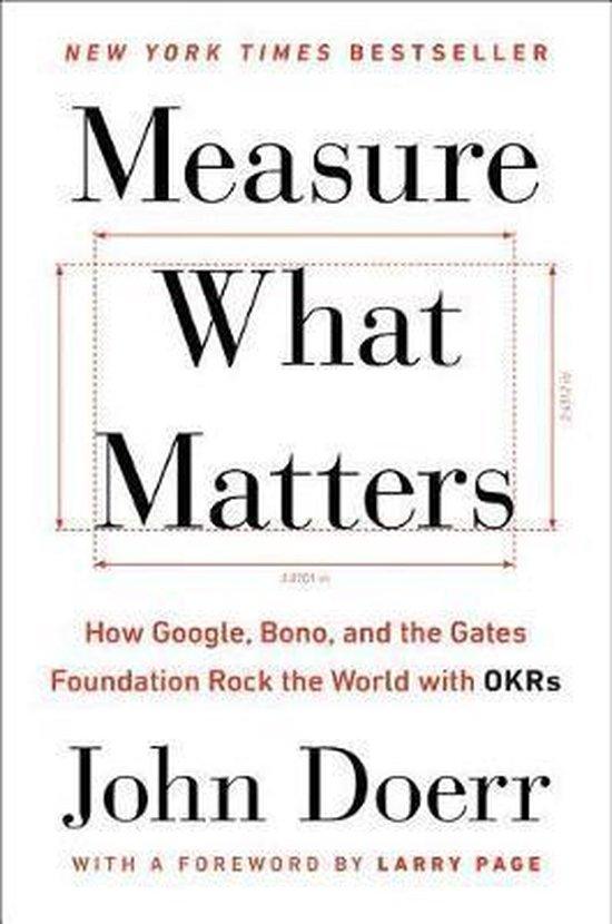 Boek cover Measure What Matters van John Doerr (Hardcover)