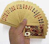 Luxe Gouden Speelkaarten / Poker kaarten waterdicht Geplastificeerd