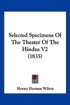 Selected Specimens of the Theater of the Hindus V2 (1835)