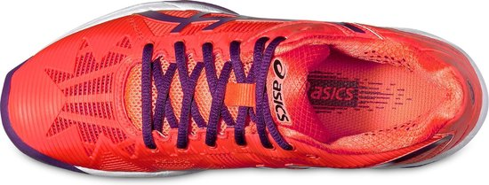 Asics Tennisschoenen Gel solution Speed 3 Dames Oranje Maat 38