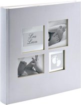 Walther Design UK-172 Little Foot - Babyalbum - 29 x 31 cm - Wit - 60 pagina's