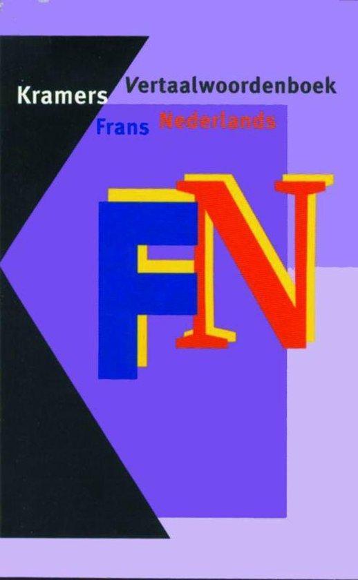 Kramers vertaalwoordenboek frans-nederlands - Onbekend  