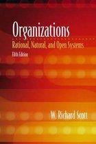 Boek cover Organizations van W. Richard Scott