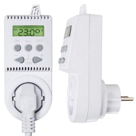 Bol Com Thermostaat Voor Elektrische Verwarming Contactdoos Infrarood Panelen Ts05 401415