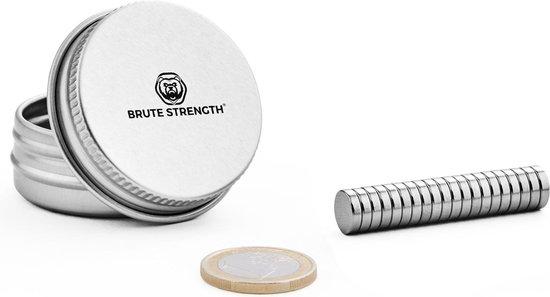 Brute Strength - Super sterke magneten - Rond - 8 x 2 mm - 20 Stuks