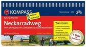 RF6282 Neckarradweg, von der Quelle im Schwarzwald nach Mannheim Kompass
