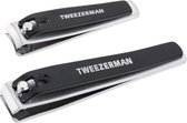 Tweezerman Combo Nagelknipper Set - Zwart
