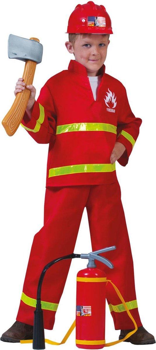 Verkleedpak brandweerman Firefighter Sam 116