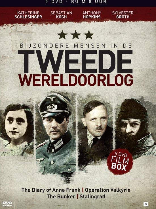 Cover van de film 'Bijzondere Mensen In De 2e Wereldoorlog'