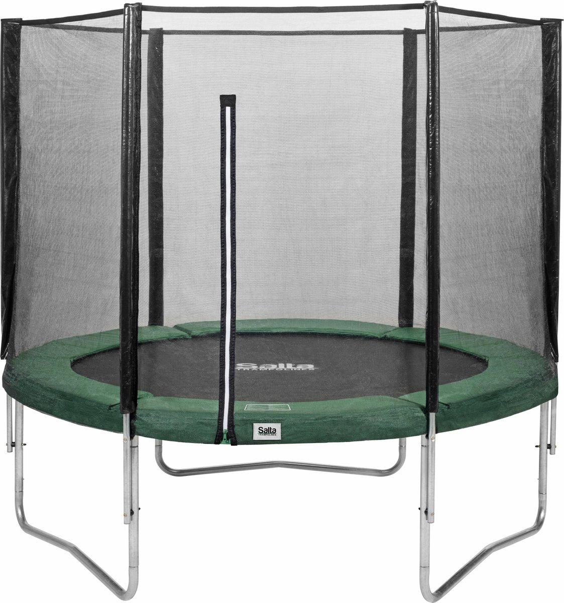Salta Combo Trampoline - 213 cm - Inclusief Veiligheidsnet - Groen