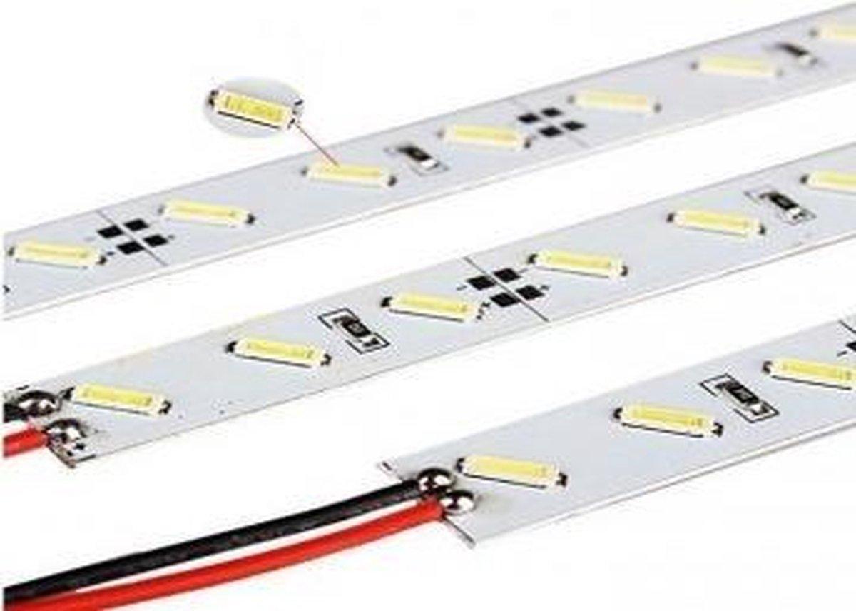 ABC-LED - Led strip - 1 m - koud wit - Rigide strip 7020