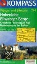 Hohenlohe-Ellwanger Berge 1 : 50 000