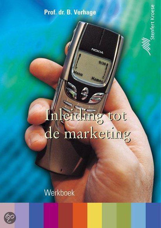 Werkboek Inleiding tot de marketing - B. Verhage |