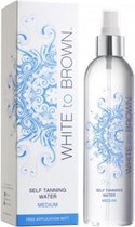 Whitetobrown Self Tanning WATER - Medium - 250ml