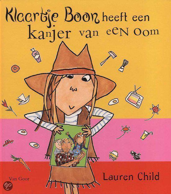 Klaartje Boon Heeft Een Kanjer Van Een Oom - Lauren Child |