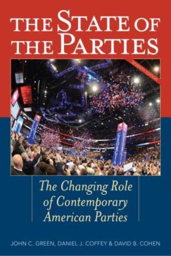 Boek cover The State of the Parties van Alan Abramowitz
