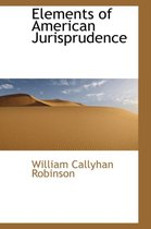 Elements of American Jurisprudence