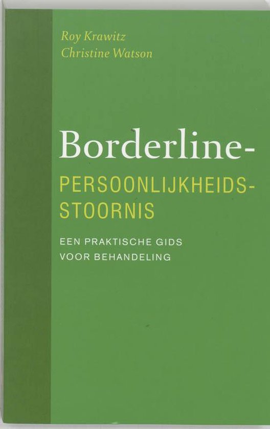 Boek cover Borderline Persoonlijkheidsstoornis van Christine Watson (Paperback)