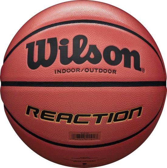 Wilson Reaction - Basketbal - Maat 7 - Oranje - Wilson