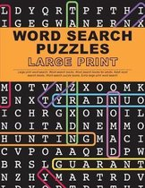 Word Search Puzzles Large Print
