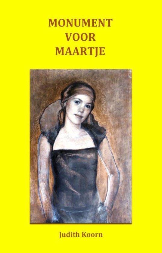 Monument voor Maartje - Judith Koorn   Fthsonline.com