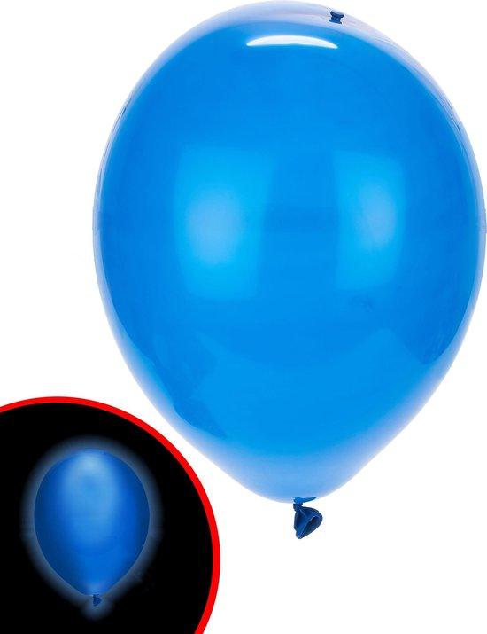 Illooms LED Ballonnen Blauw - 5 Stuks