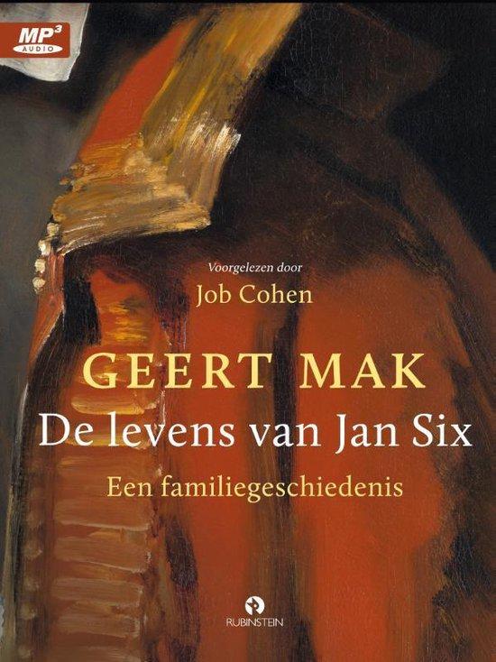 Boekomslag voor De Levens Van Jan Six (luisterboek)