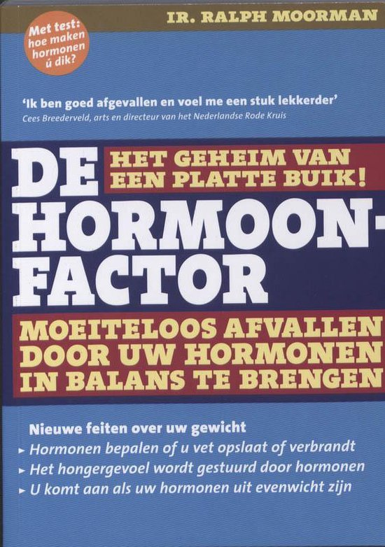 Boek cover De Hormoonfactor van Ralph Moorman (Hardcover)