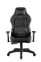 N. Seat PRO 500 Series Gaming Race / bureaustoel - Zwart/Zwart ( Ergonomisch & Comfortabel )