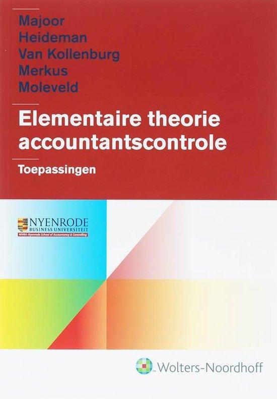 Elementaire theorie accountantscontrole / deel Toepassingen - Majoor  