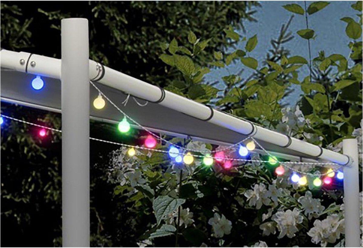 LED Multicolour Feestverlichting Prikkabel - 80 Lampen - 16 Meter - IP44