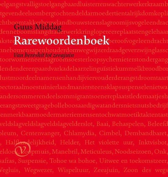 Rarewoordenboek - Guus Middag pdf epub