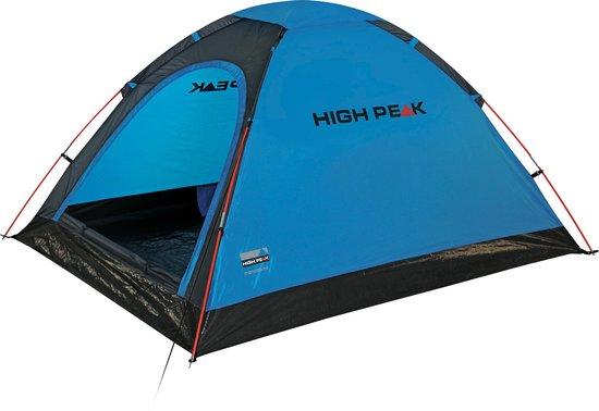 High Peak Monodome PU - Koepeltent - 2-Persoons - Blauw