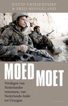 Boek cover Moed moet van David Vriesendorp (Paperback)