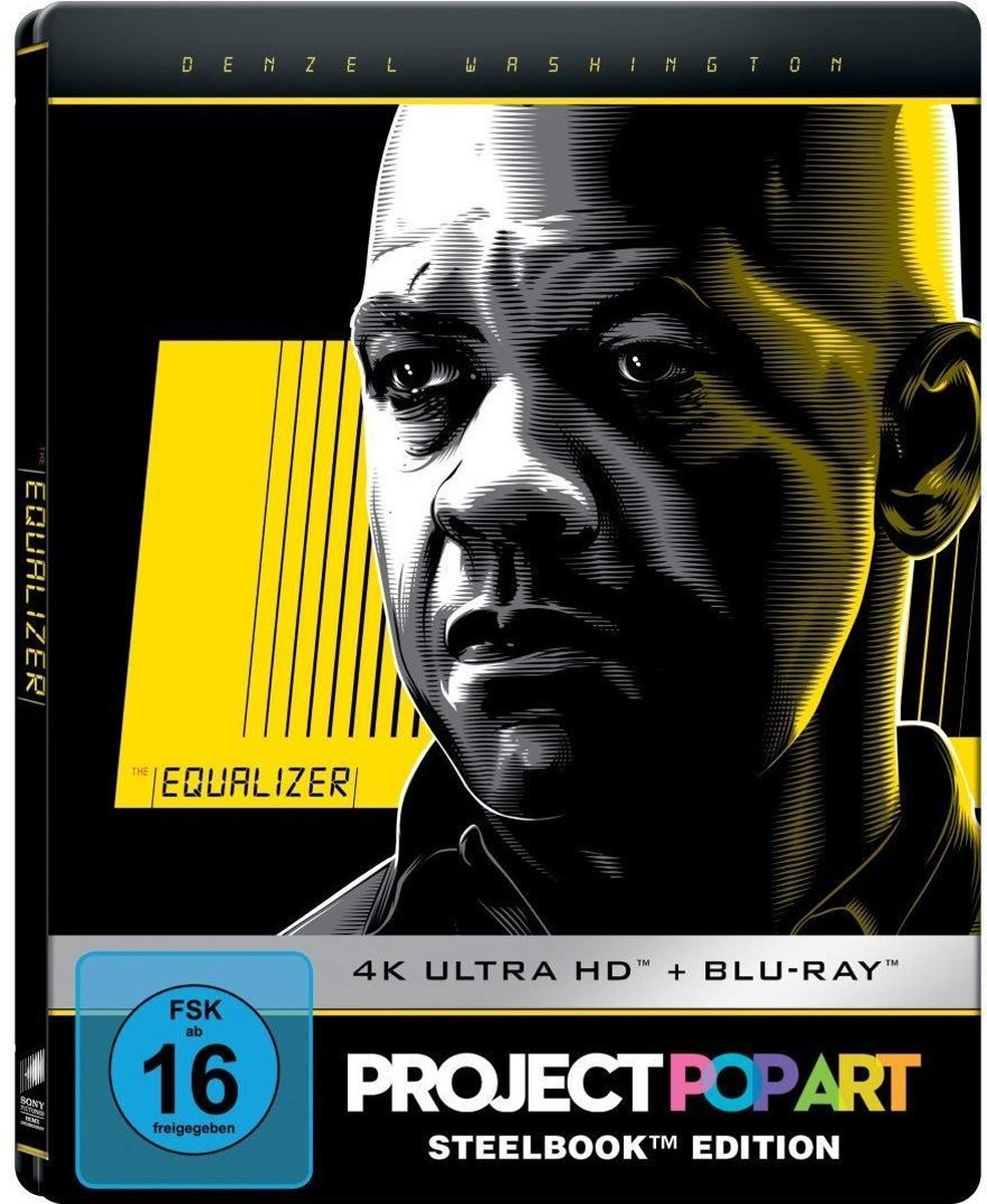 The Equalizer (Ultra HD Blu-ray & Blu-ray in Steelbook)-