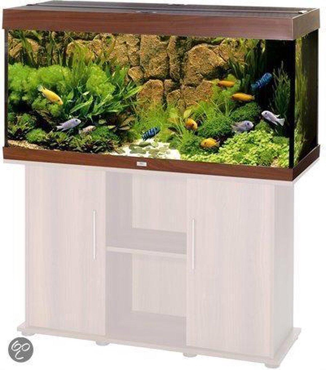 Juwel Rio Aquarium - 121x66x51 cm - 300L - Donkerbruin - Juwel