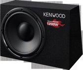 Kenwood KSC-W1200B - Subwoofer in kast met bass-poort