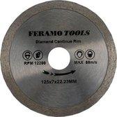 FeramoTools Diamantzaag Tegels & Graniet PRO – 230mm, asgat 22,23mm