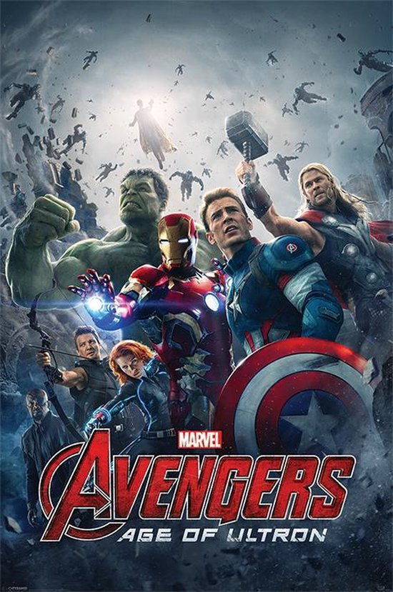 Poster The Avengers age of Ultron