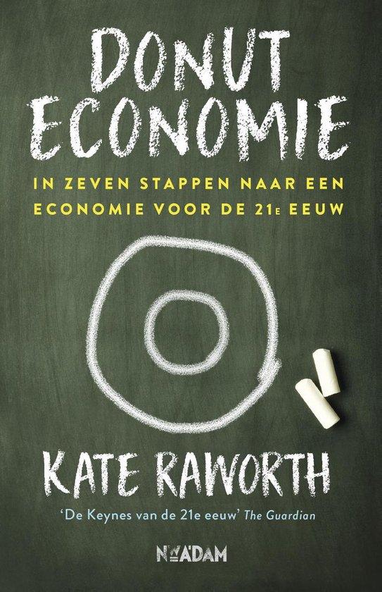 Boek cover Donuteconomie van Kate Raworth (Paperback)