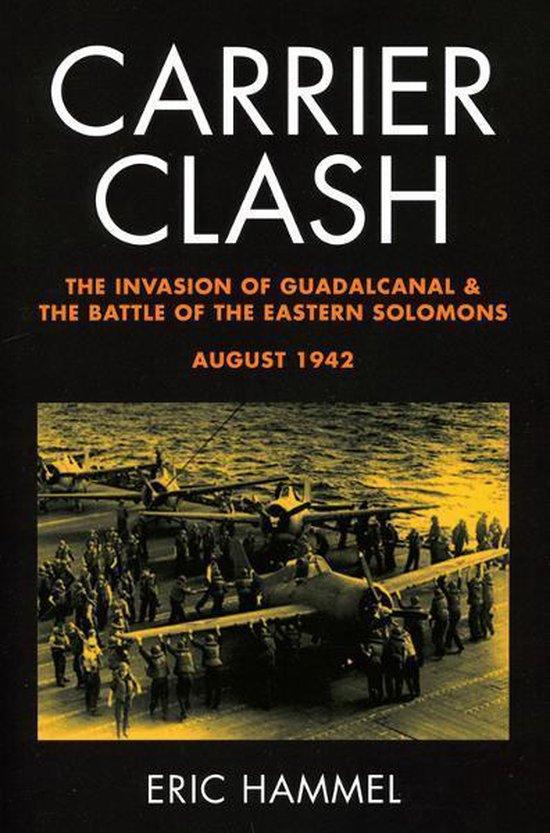 Boek cover Carrier Clash van Eric M. Hammel (Onbekend)