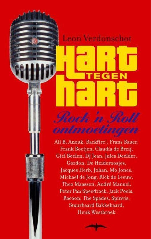 Cover van het boek 'Hart tegen hart' van Leon Verdonschot